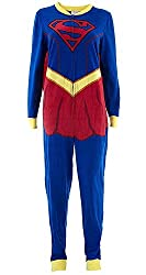Women's Supergirl Union Suit, Multi-Colored, Large