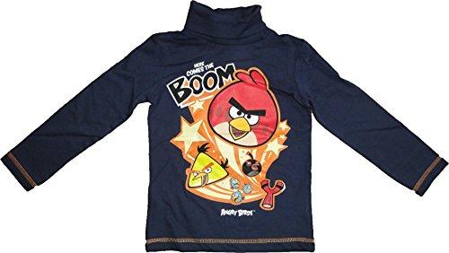 Angry Birds Boom Rollkragen Pullover in BlauGr. 104