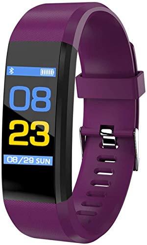 Reloj inteligente de presión para hombres y mujeres, Bluetooth, pulsera inteligente de sangre, reloj deportivo con monitor de ritmo cardíaco, reloj inteligente 2021, D