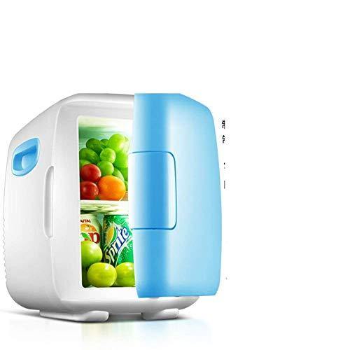 Coche Mini Nevera, 8L Hogar Puerta Inicio Frigorífico Enfriamiento Estudiante Dormitorio Coche Casa Dual Propósito Refrigerador-C 26.5x18.5x27cm (10x7x11) Peng