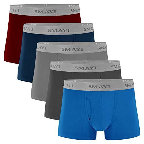 5Mayi Unterwäsche Herren Boxershorts Unterhosen Männer Baumwolle Men Boxershorts Herren S M L XL XXL