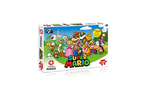 Winning Moves Puzzle Super Mario And Friends, 500 Pezzi, 29476