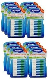 Wisdom Clean Between Interdental Medium Store Pack Brushes Cheap Green Of -