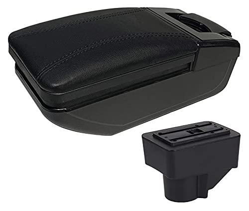 Outdoorking Auto Scatola bracciolo per Ford per Fiesta 2008-2013 2014 2015 2016 2017 2018 Car Center Console Bracciolo Box Storage