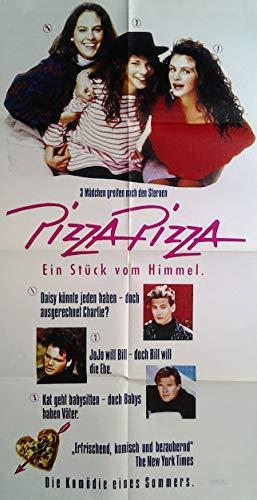 Pizza. Pizza. EIN Stück vom Himmel (1987)   original Filmplakat, Poster [50 x 87 cm]