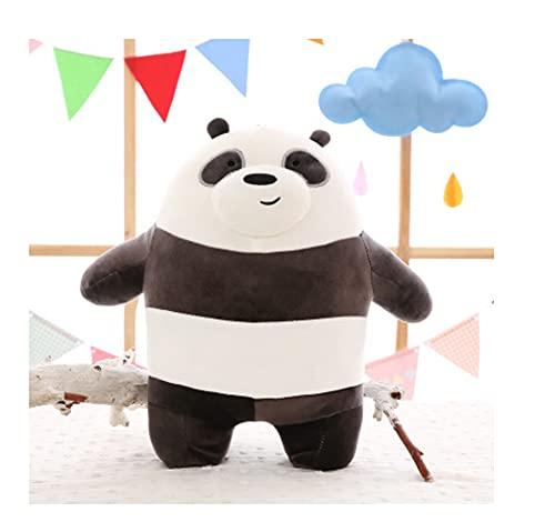 Giocattoli di peluche panda kawaii, bambola abbraccio paffuto, peluche animale dei cartoni animati, per bambini regali di compleanno di Natale, 25 cm