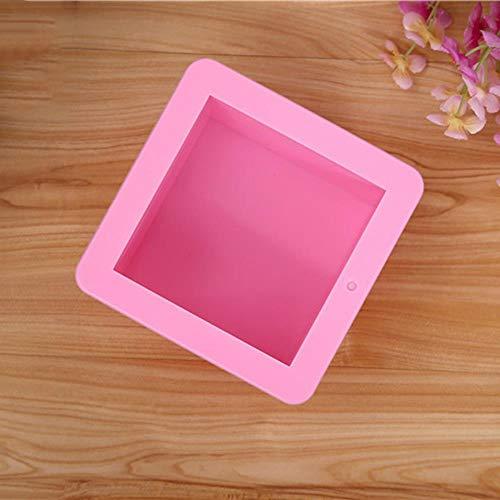 500ml savon moule de gâteau de silicone carré ustensiles de cuisson outil pouding ovale cube de glace pain pâtisserie main moule