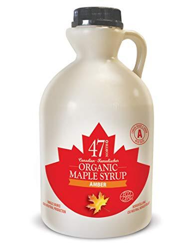 47 North Jarabe de arce orgánico canadiense,...