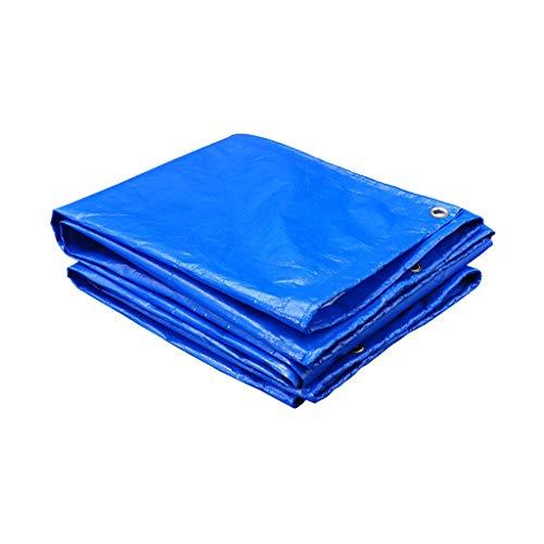 Buiten waterdicht dekzeil Dekzeil Dik canvas Zonnescherm Regenbestendige doek Schaduw Luifeldoek Luifel (maat: 4x6M)