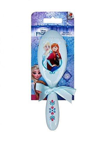 Frozen Anna and Elsa Blue Hair Brush