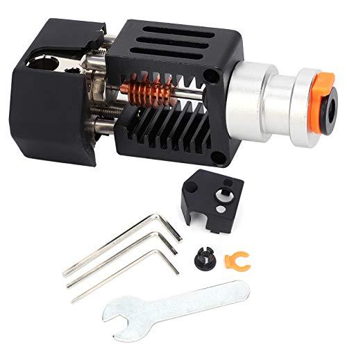 Ganzmetall-Extruder, Metall-Extruder-Kit, funktionale exquisite Handwerkskunst Schwarz für 3D-Drucker Industrieanwendungen Maschinen DIY-Anforderungen