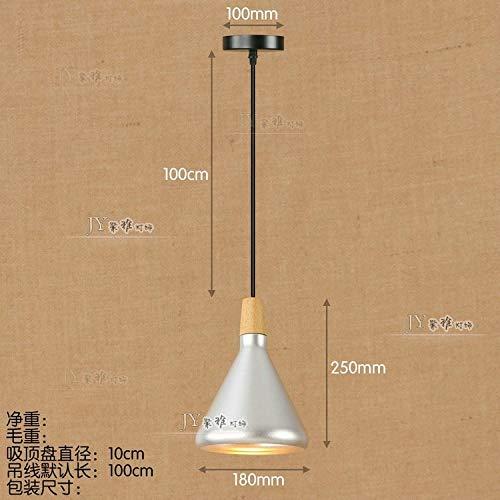 C.W.USJ Pendant Lamp Pendant Lights Wrought Iron Retro Edison Hanging Lamp Industrial Bar Living Room Chrome Pendant Lamps Chandelier (Body Color : Violet, Size : Free)