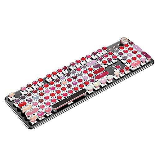 Freljorder Rouge à lèvres ABS à 104 Touches