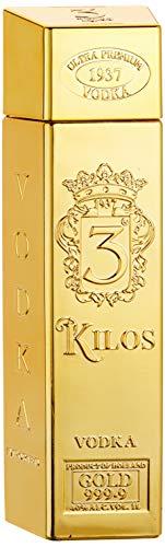 3 Kilos Vodka Gold 999.9 (1 x 1 l)