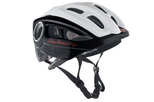 Brooks Erwachsene Fahrradhelm Supacross, black/White, L/XL