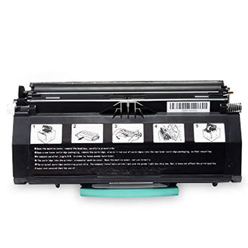 XIGU Reemplazo Compatible para Cartuchos de tóner DELL 1700 para Lexmark E260D 260DN 360D 360N 460DN 460DW Printer, con Chip Home School Alta Estabilidad Impresión Suave