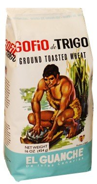 Gofio El Guanche (2 pack) 1 pound each. Ground Toasted Wheat.