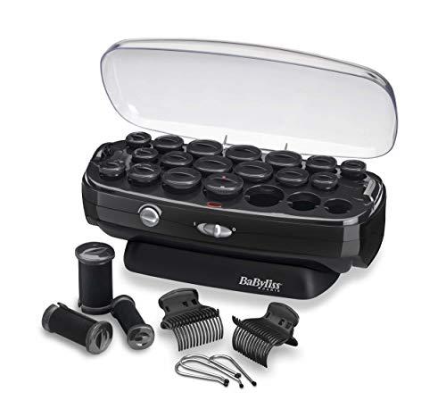 Babyliss Thermo Ceramic Rollers aufheizbare Lockenwickler mit Keramik-Beschichtung und Ionen-Technologie für Seidige langanhaltende Locken RS035E