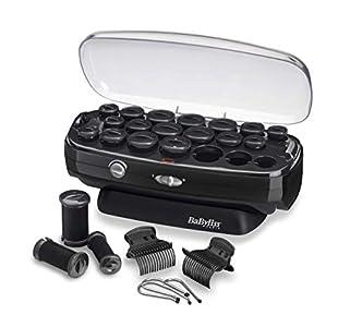 BaByliss RS035E Set de rulos térmicos de cerámica 20 rulos, 8 grandes de 32 mm, 6 medianos de 26mm, 6 pequeños de 19mm, 10 pinzas grandes, 20 horquillas para ondas y rizos duraderos y con volumen
