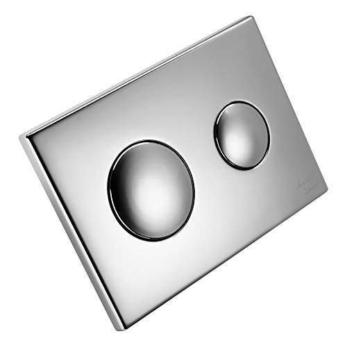 Armitage Shanks S4397 Conceala 2 Dual Flush Push Button Plate (Brushed Nickel)