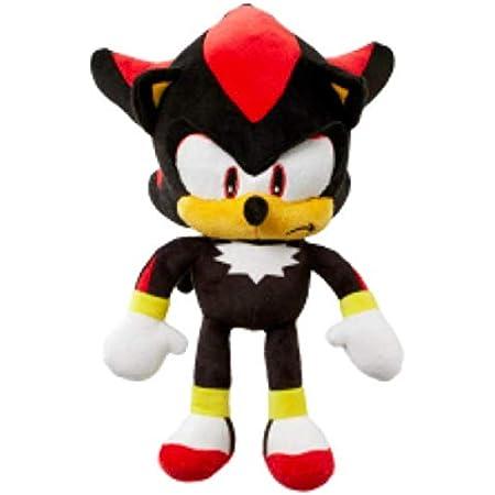 """Shadow 11"""" Plush Soft Toy Sega Sonic The Hedgehog …"""