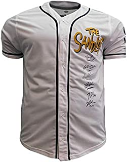 The Sandlot Cast Signed Autographed 'The Sand Lot' Baseball Jersey - JSA COA