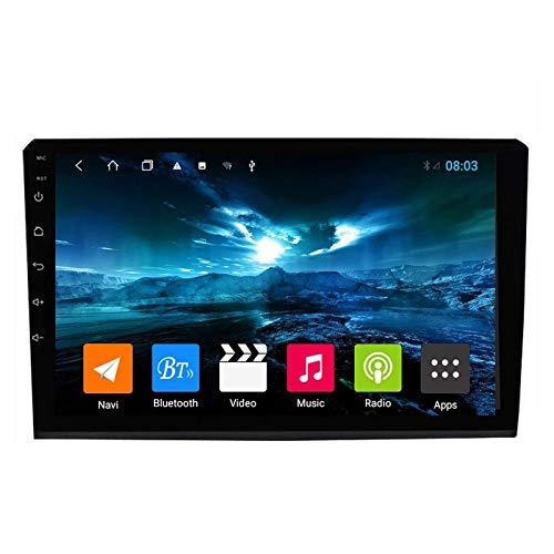 MIVPD Autoradio Android 10.0 Radio Compatibile con Fiat Bravo 2007-2012 Navigazione GPS unità Principale da 9 Pollici HD Touchscreen Lettore multimediale Video con WiFi DSP SWC