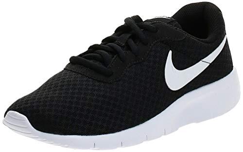 Nike Tanjun (GS) - Scarpe da corsa su strada Ragazzi, Nero/Bianco (Black/White/White), 36 EU