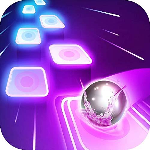Best Music Magic Tiles Neon Ball Hop Game! EDM Rush Dancing Ball Forever