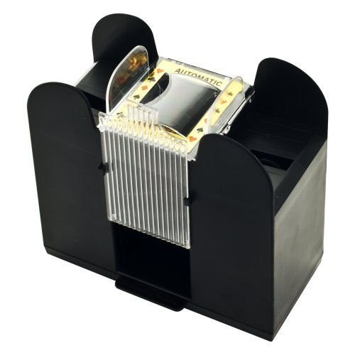 Card Shuffler : Casino Auto Automatic 6 deck Playing Card Shuffler