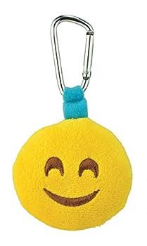 Smiley Emoji Backpack Clip Plush Smile Face Carabiner