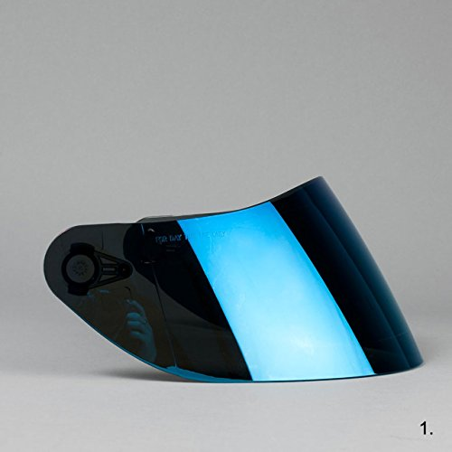 Visera Azul AGV K3SV K1K5K5-sv K5S Horizon horizonte Strada Numo Azul Espejo GT-2
