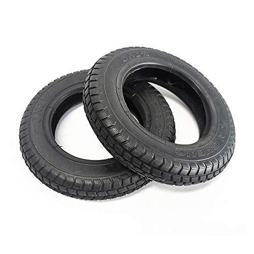 SUIBIAN Neumáticos de Scooter eléctricos, 6X1 1/4 Neumáticos Interiores y Exteriores 6X1.25 Neumáticos Antideslizantes Gruesos Antideslizantes, adecuados para Ruedas Delanteras y traseras de Scooters