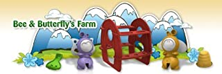 Sprig Toys Hollow Bee and Butterfly's Farm Playset