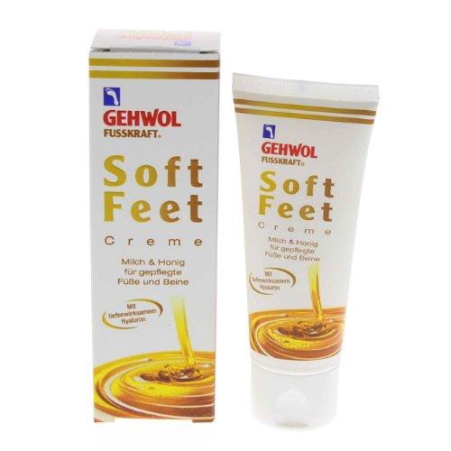 GEHWOL Fusskraft Soft Feet, Fußcreme mit Hyaluron, Urea, 40 ml