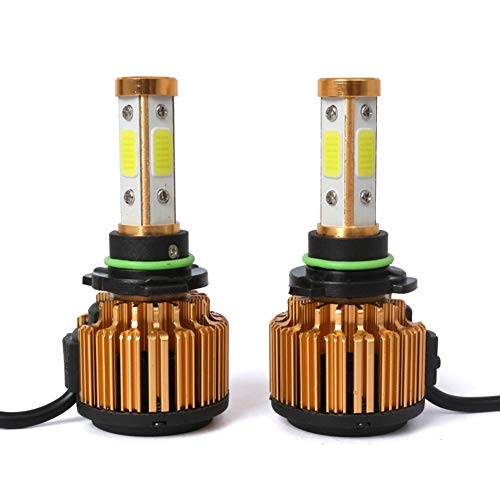 HB4/9006 LED-lampen, autolampen, vervanging voor halogeenlampen en xenonkit, 8000 lm, 9 V-32 V, 100 W, 6500 K, 2 stuks