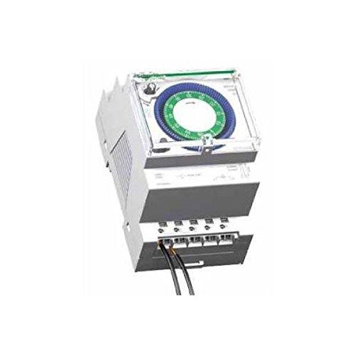 Schneider Electric CCT15338 Acti 9 IH Interruptor Horario Analógico, 60 Min, 54mm x 90mm x 66mm, Blanco