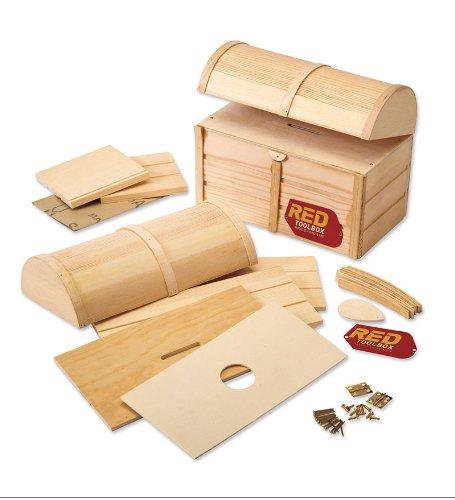 Red Tool Box Treasure Chest