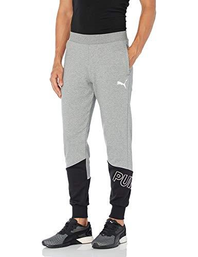 PUMA Men's Modern Sport Pants, Medium Gray Heather, M