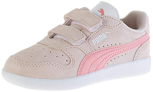 Puma Unisex bebé Icra Trainer Sd V Ps Zapatillas, Rosa (Pink Rosewater/Peony White 33), 31 EU