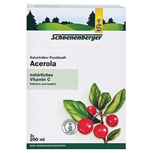 Schoenenberger naturtrüber Fruchtsaft Acerola, 600 ml Lösung