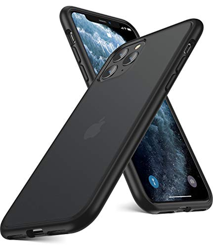 Humixx für iPhone 11 Pro Hülle [Military Grade Drop Tested] Matte Transluent Hülle iPhone 11 Pro Schutzhülle Hardcase mit TPU Weiche Rahmen Anti-Kratzen Anti-Fingerabdruck Handyhülle für iPhone 11 Pro