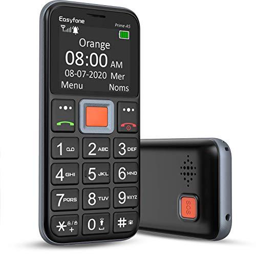 Easyfone Prime-A5 Téléphone Portable Senior...