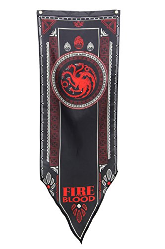 Game of Thrones House Targaryen Tournament Banner 19.25 x 60 in