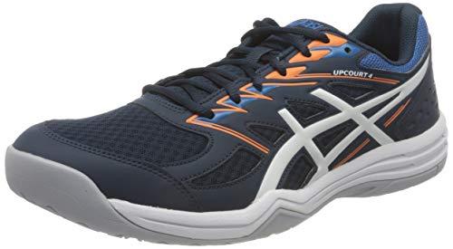 ASICS Herren Upcourt 4 Indoor Court Shoe, French Blue/White, 45 EU