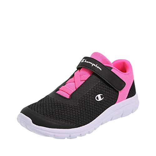Champion Black Pink Girls' Performance Gusto Cross Trainer 6 Regular