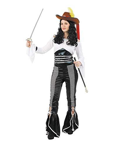 DISBACANAL Disfraz de piratesa Mujer - -, M
