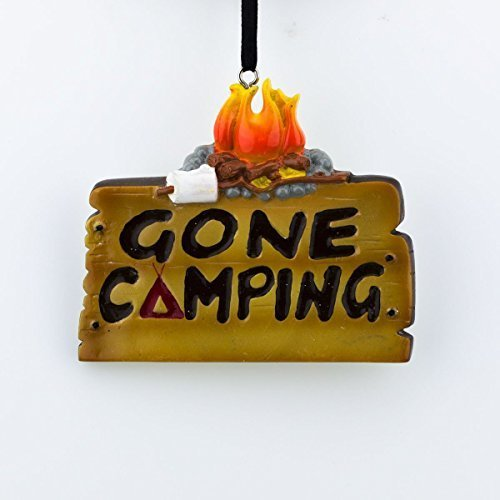 Gone Camping Christmas Ornament Tree by Polar X