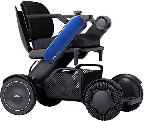 """Whill Modelo Ci2 Silla eléctrica portátil (azul, asiento ancho de 20"""") ✅"""