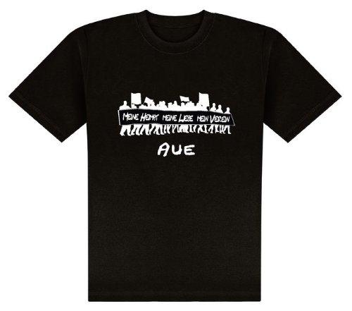 World of Football T-Shirt Meine Heimat. AUE - XL